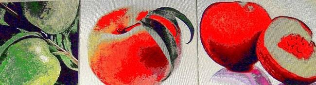 conjunto fruta