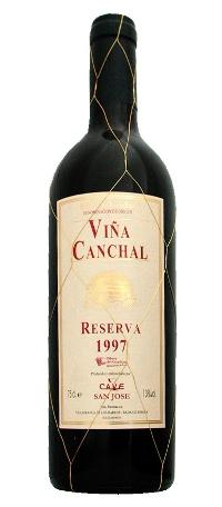 Viña Canchal reserva1997