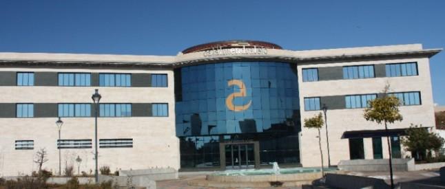 Sede y oficinas centrales de Cajalmendralejo.