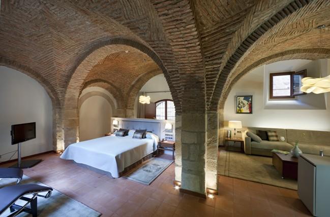 Habitación del Parador de Cáceres