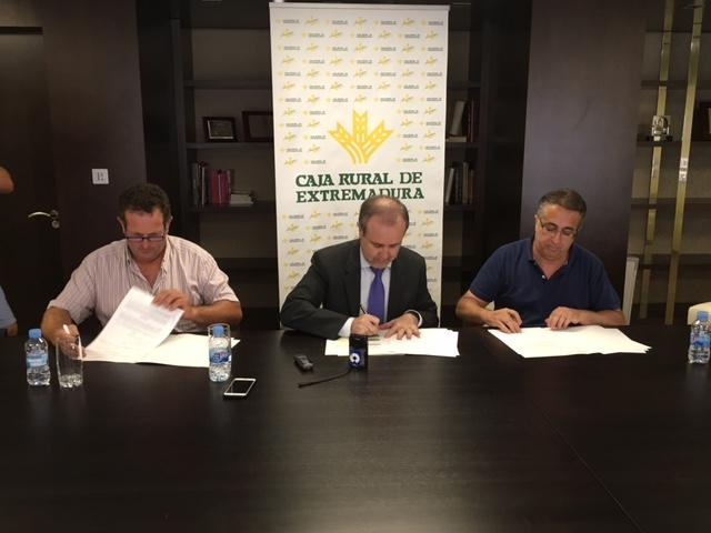 De izda. a dcha., Juan Metidieri, José María Portillo e Ignacio Huertas.