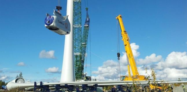 GES participa con Gamesa en la instalación de grandes parques eólicos