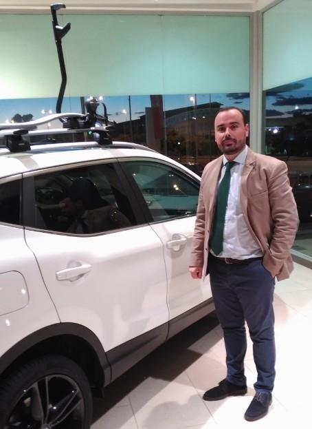 Nacho Macías, Director de Postventa de Divensa, concesionario oficial de Nissan en Extremadura
