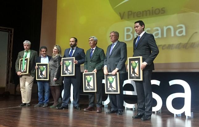 Entrega de los premios Besana Extremadura