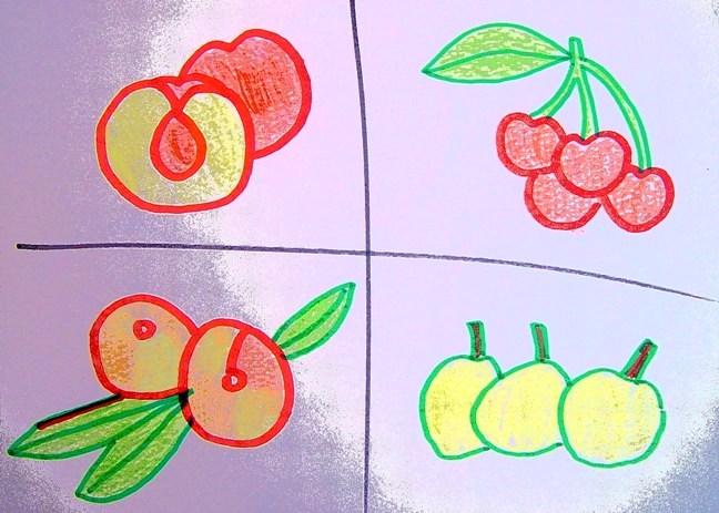 ciruelas nectarinas etc