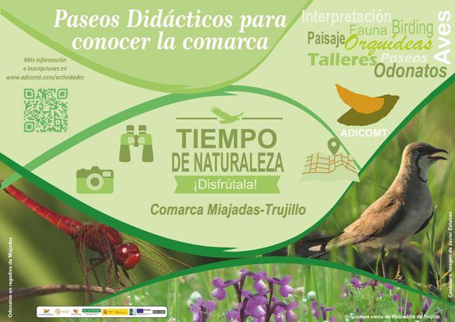 Cartel Salidas Naturaleza 2018